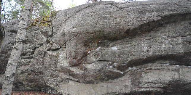 Bouldering i Orhem