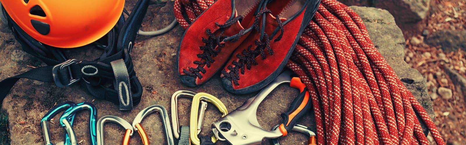 klätterutrustning